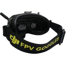 DJI عقال نظارات FPV ، غير قابل للانزلاق ، مع حامل بطارية ، قابل للتعديل ، نمط قابل للتخصيص ، Fatshark HDO Skyzone Sky02X EV200D
