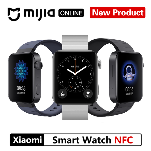 새로운 Xiaomi 스마트 워치 GPS NFC WIFI ESIM 전화 통화 팔찌 손목 시계 스포츠 블루투스 피트니스 심박수 모니터 트래커 MIUI