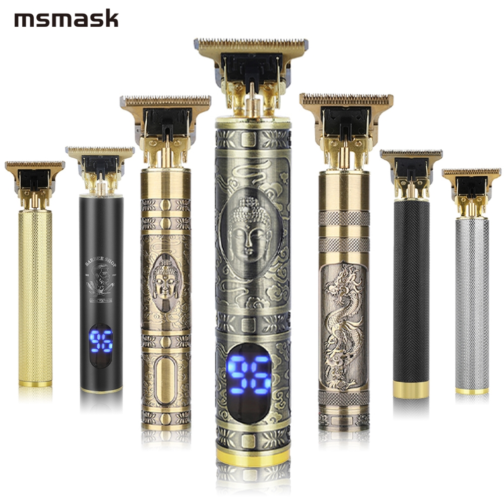 Профессиональная машинка для стрижки волос косилка электрическая машинка для стрижки волос, USB Перезаряжаемые аккумуляторная бритва 0 мм Д...