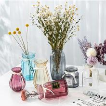 Glass Vase European Decoration Home Flower Vase Flower Arrangement Hydroponic Tabletop Vase For Flower Decoration transparent tabletop glass vase mini crystal hydroponic container terrarium plant flower pot vase home office wedding decor