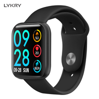 LYKRY P80 smart watch women IP68 waterproof full touch screen smartwatch Heart Rate Monitor for samsuang xiaomi huawei Android