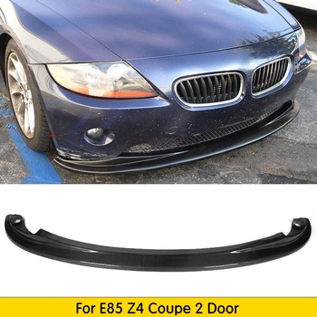 Carbon Fiber Racing Front Bumper Lip for BMW Z4 E85 Convertible Coupe 2-Door 2002-2008 image