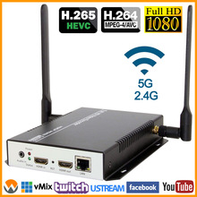 Encoder IPTV RTMP M3u8-Streaming-Encoder Video Ip-Stream HDMI RTSP WIFI H.264 1080I To