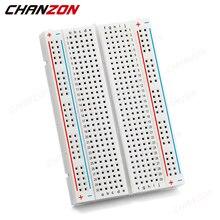 1pc High Quality Soldering PCB DIY Solderless Test Jumper Raspberry Bread Board Power Breadboard Wire Kit Case for Arduino