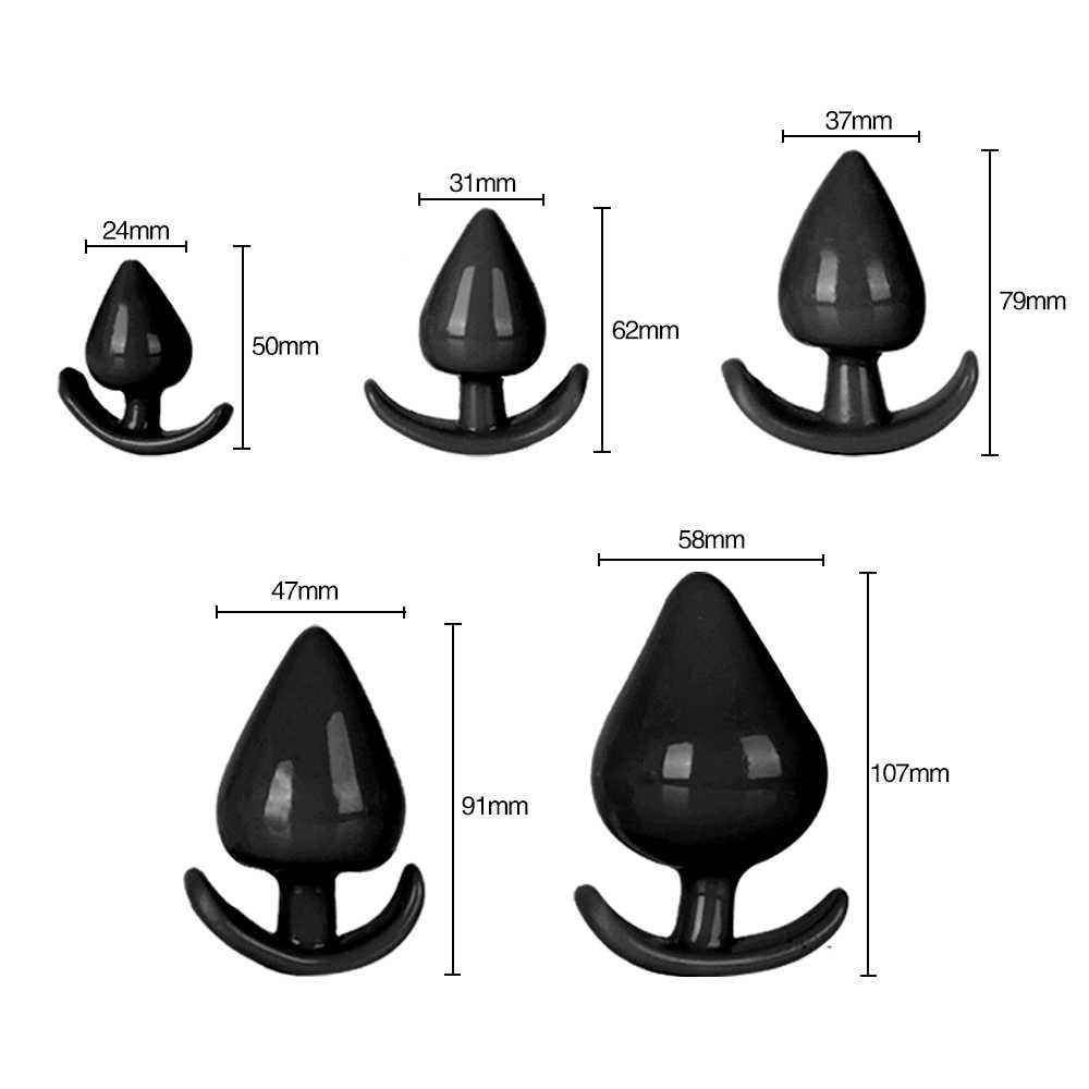 นวดสำหรับชายสำเร็จความใคร่ Anus Expansion กระตุ้น Big ลูกปัดเร้าอารมณ์ Anal Plug ของเล่นขนาดใหญ่ BUTT ปลั๊กต่อมลูกหมาก