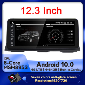 NaviFly Car multimedia player Car GPS Navigation for BMW 5 Series F10 F11 2011-2016 CIC NBT Android 10.0 Carplay 4G LTE DSP