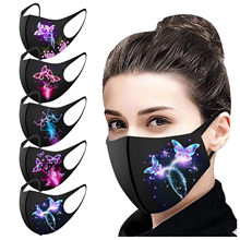 5 pçs máscaras de boca reutilizar bonito animal poeira muffle máscara facial lavável earloop rosto respiração máscara lavável masque lavable femme