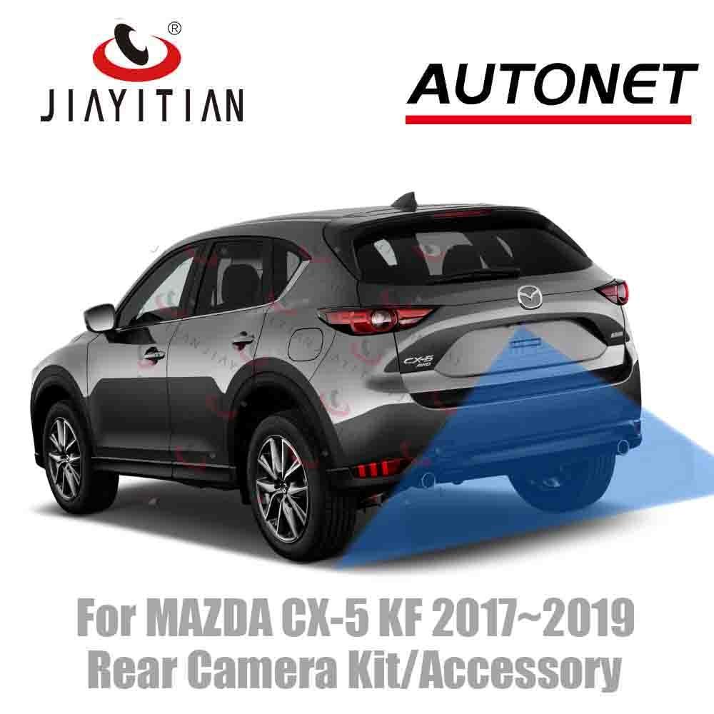 JIAYITIAN For MAZDA CX-5 CX5 II KF 2017 2018 2019 Original Factory Screen Adapter Cable Rear View Camera/kit Backup Camera