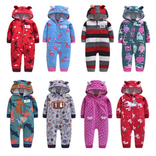 2020 Newborn Baby Winter Hoodie Clothes boys Baby clothing G