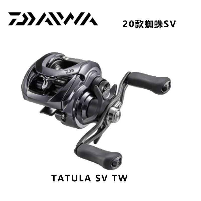 2020 новая DAIWA TATULA SV TW 103 Низкопрофильная Рыболовная катушка 7BB + 1RB Рыболовная катушка для соленой воды TWS SV катушка