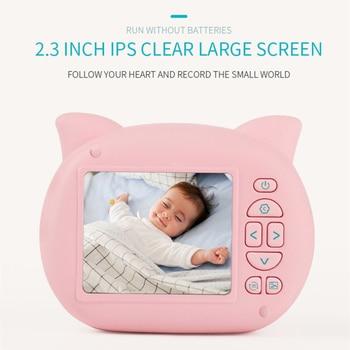 Mini Cartoon Pig Camera For Kids Digital Camcorder    2