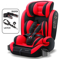 Hot Sale Carmind Child Car Safety Seat for 9 M 12 Y Old with Soft Connector ISOFIX and LATCH Forward facing Universal Car Seats