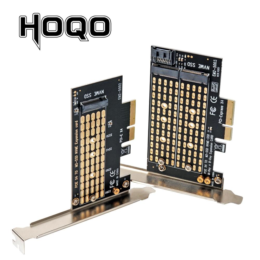 PCIE to M2/M.2 Adapter SATA M.2 SSD PCIE Adapter NVME/M2 PCIE Adapter SSD M2 to SATA PCI-E Card M Key +B Key(China)