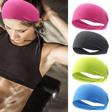 Outdoor Sports Running Sweat Lead Belt Gym Yoga Headband Quick Dry Moisture Wicking Unisex Cross Training Sports Headband(China)