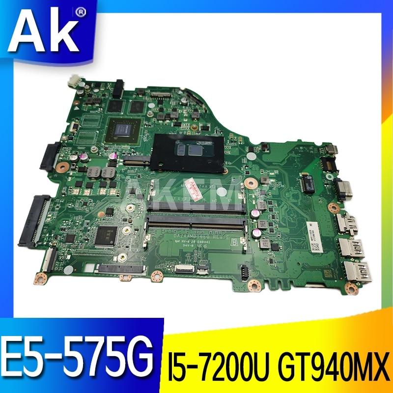 Galleria fotografica AKemy I5-7200U GT940MX Scheda Madre per <font><b>Acer</b></font> Aspire E5-575G F5-573G DAZAAMB16E0