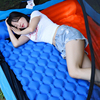 190*60*5CM Outdoor Camping Inflatable Sleeping Pad Portable New Design Camp Mat Tent Swimming Pool Air Cushion With Pillow
