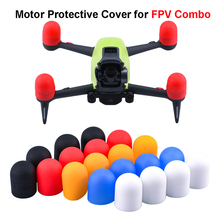 Мотор крышка для DJI FPV Combo Drone Protective Soft Hat Engine Protector пыленепроницаемый крышка чехол для FPV Combo аксессуары