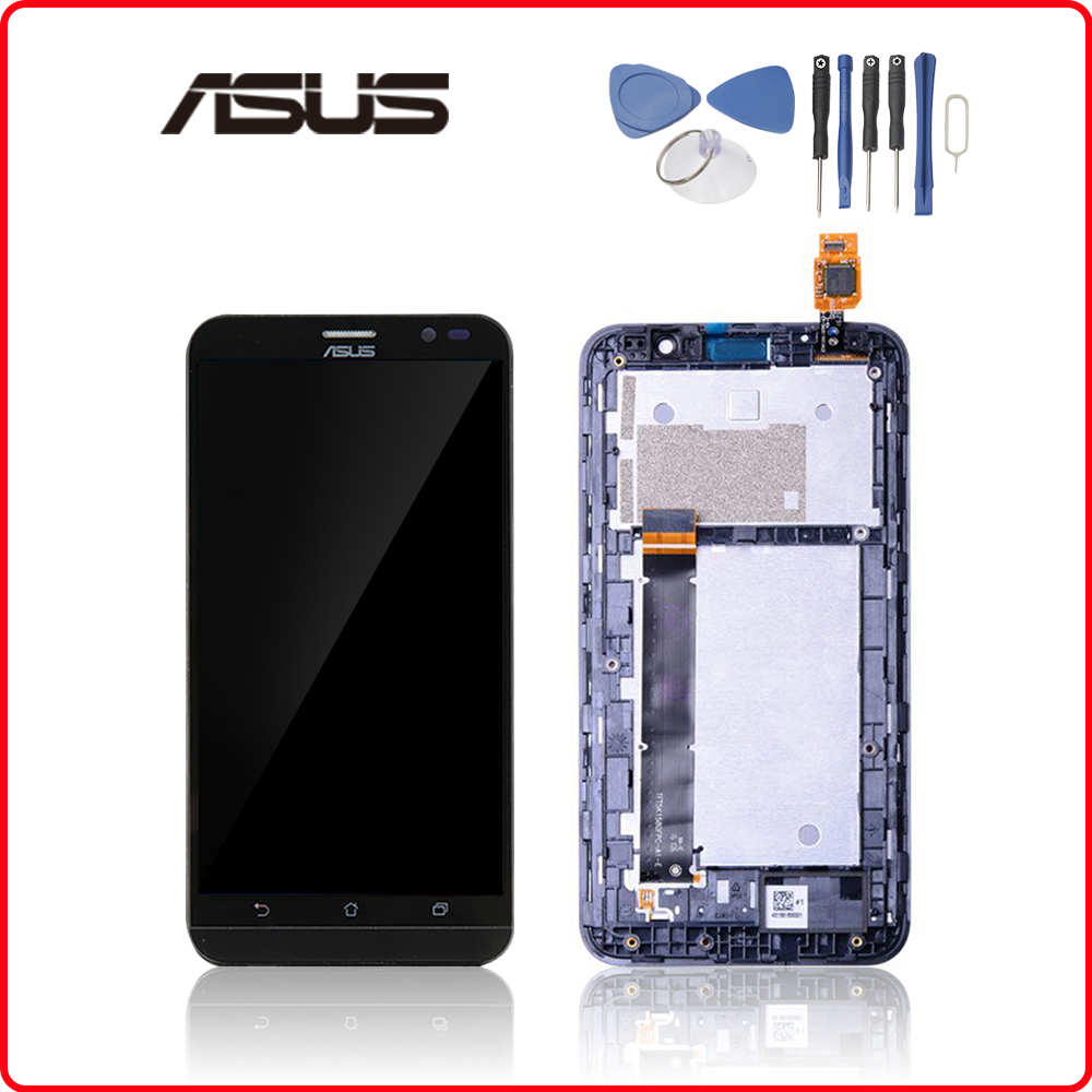 5.5'' Original Display For <font><b>ASUS</b></font> Zenfone Go TV ZB551KL <font><b>X013D</b></font> Touch Screen For <font><b>ASUS</b></font> <font><b>X013D</b></font> Zenfone ZB551KL LCD Assembly Replacement image