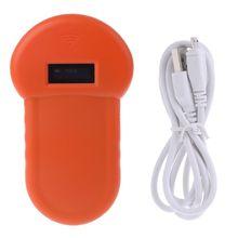 Lettore di identificazione dellanimale domestico Scanner digitale con Chip per animali USB ricaricabile identificazione palmare Microchip applicazione generale