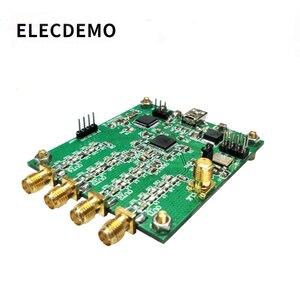 Ad9959 módulo rf sinal gerador de quatro canais dds módulo na instrução saída serial varredura freqüência am sinal-gerador