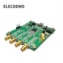 AD9959 モジュール RF 信号発生器 4 チャンネル DDS モジュール命令でシリアル出力掃引周波数 AM 信号発生器