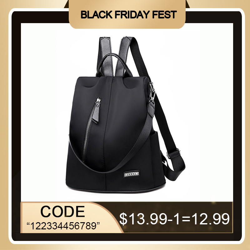 Ultimate SaleMochila Shoulder-Bag Anti-Theft-Backpack Waterproof-Fabric Travel Large-Capacity Female