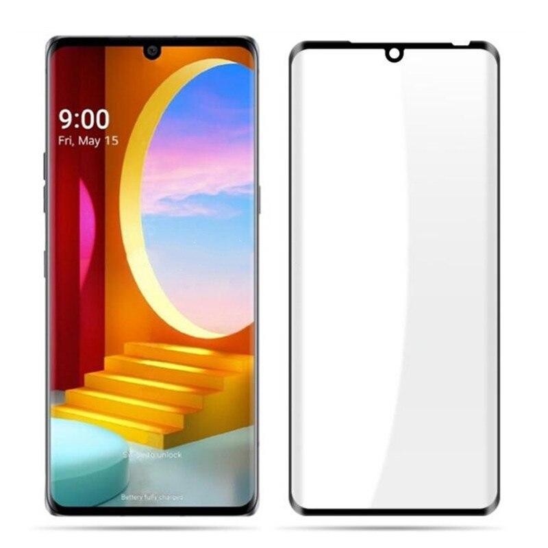 3D Arc Edge Full Cover Tempered Glass For LG Velvet / LG G9 LM-G900N LM-G900EM Screen Protector Prot
