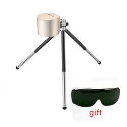 Компактный лазерный гравировальный станок 1,6 Вт, портативный лазерный гравировальный мини настольный лазерный гравировальный станок, лазе...