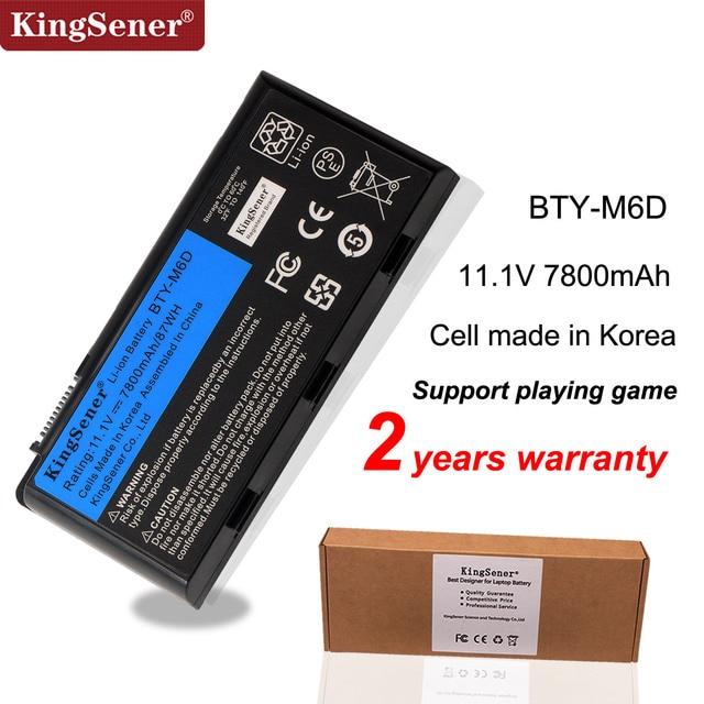 Kingsener New BTY M6D Laptop Battery for MSI GT60 GT70 GX780R GX680 GX780 GT780R GT660R GT663R GX660 GT680R GT783R 9CELLS