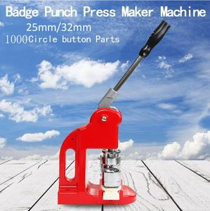 Image 5 - 37MM Badge Punch Press Maker Machine With 1000 Circle Button Parts+Circle Cutter for sale
