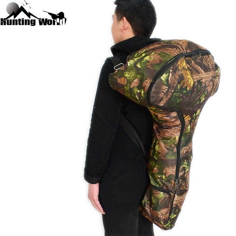 Охотничья Bionics камуфляжная сумка для арбалета с Т-образным бантом, защитный чехол для переноски с небольшими боковыми карманами для трениро...