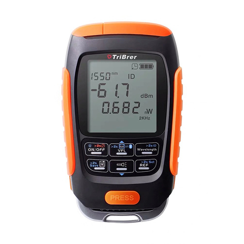 Mini 4 in 1 Multifunction Optical Power Meter Visual Fault Locator Network Cable Test optical fiber tester 5km 15km VFL Lahore