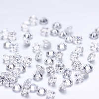 20pcs/pack Lab Grown Loose Diamond DEF Color VS-VVS Clarity Round 1.45mm CVD/HPHT diamond Test Positive Lab Diamond