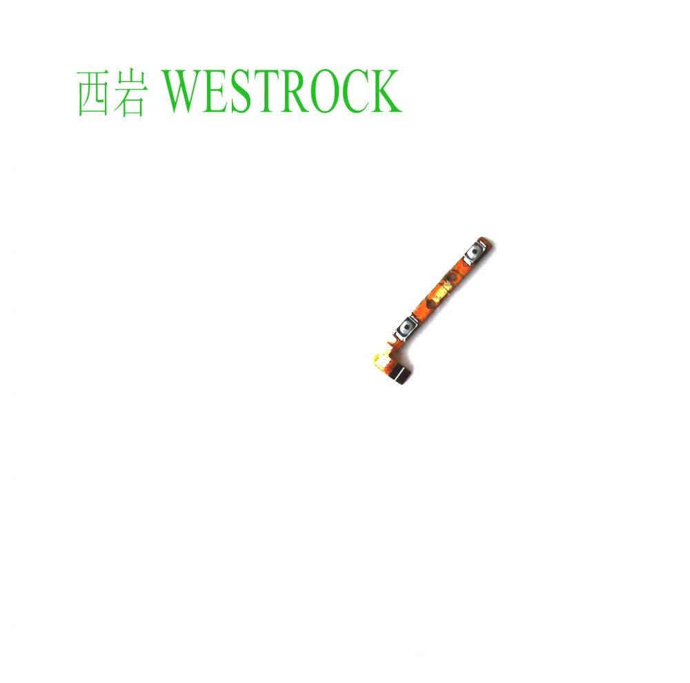 Westrock Volume Up / Down Button Flex Cable Power Flex Cable For Lenovo K920 Phone