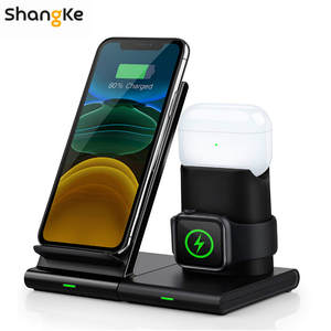 Charging-Dock Watch Airpods Apple Wireless-Charger Detachable 3-In-1 for Apple/Watch/Airpods/..