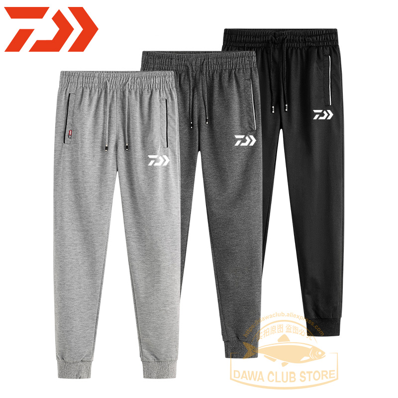 2020 New Autumn Fishing Clothing Dawa Breathable Casual Cotton Pants Summer Fishing Trousers Outdoor Pants Fishing Cycling Pants