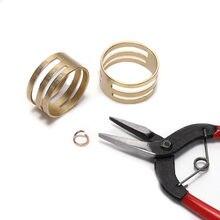 2 шт/лот медные открытые разрезные соединительные кольца закрывающие