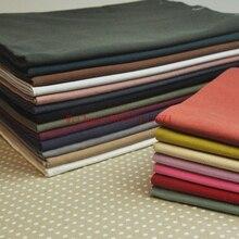 50x75 см 20-цвет японский ткань из хлопка с полиэстером одежды мыть хлопок ткань ручной работы diy дикие капок прочным фундаментом ткань