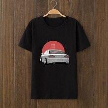 Design Jdm Silvia Car t shirt Short Sleeve urban size S-3xl men cute Interesting hombre Top Quality