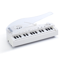 Children Multi function Intelligent Bluetooth Mini Electronic Keyboard Piano Musical Toy with Light Sound Kids Christmas Gift