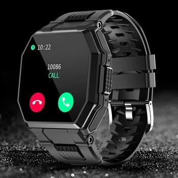 CHOTOG Smart Watch Men Bluetooth Call Music IP67 Waterproof Smartwatch Women Heart Rate Monitor Outdoor Sports Full Touch Clock 1