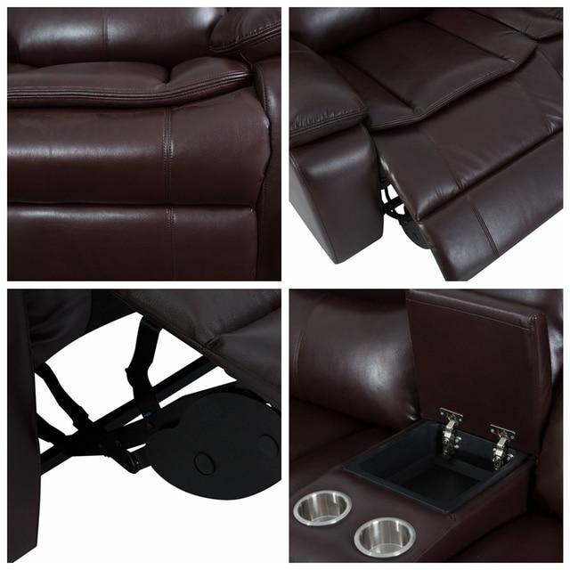 Manual Reclining Sectional Sofa Set  6