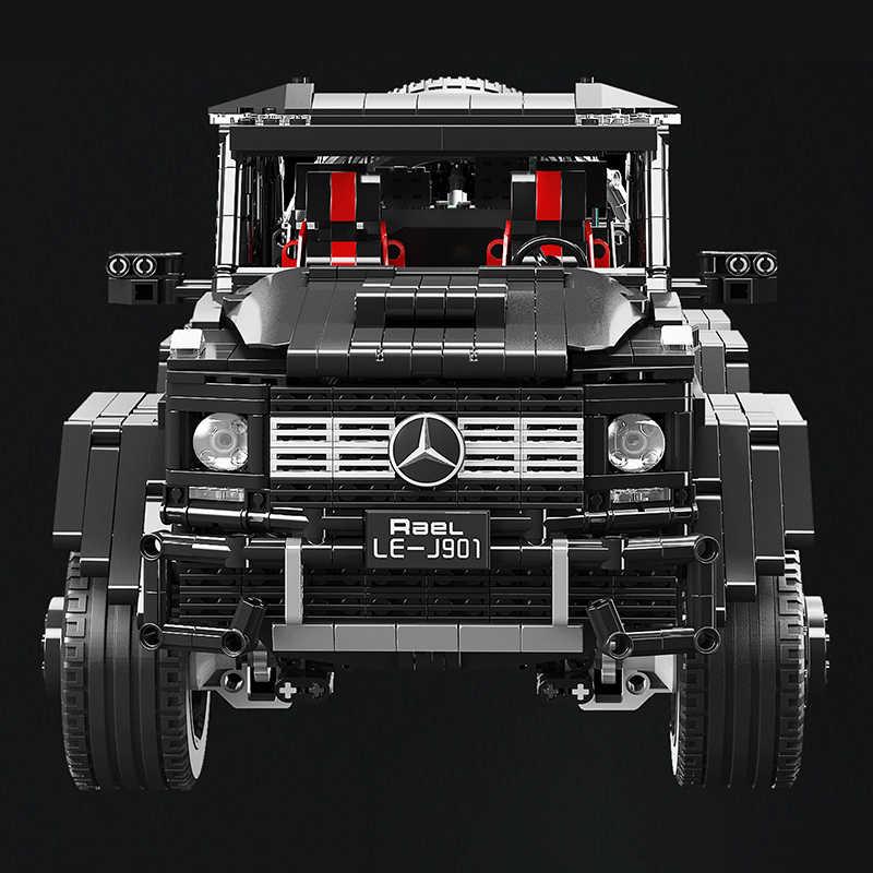 Technic Benz 6x6 LAND CRUISER Off-road Car Truck Building Block SUV Veicoli Mattoni Bambini Giocattoli Per I Bambini regali di natale Dei Ragazzi