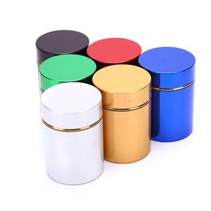 Алюминиевая травяная металлическая герметичная банка для чаепития, бутылочки, банки, коробки, контейнер с защитой от запаха
