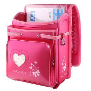 Image 4 - Coulomb yüksek kaliteli çocuk kız çocuk ortopedik sırt çantası okul öğrencileri okul çantalarını japonya PU sevimli ilmek Randoseru bebek çantaları