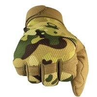 Handschoenen Militaire Tactische Handschoenen Armor Bescherming Volledige Vinger Handschoenen Voor Riding Klimmen Training