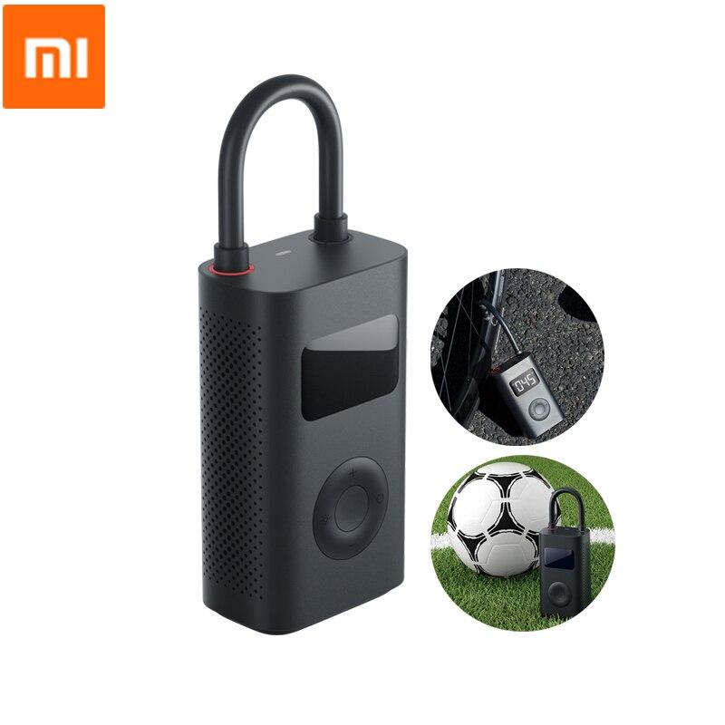 Xiaomi Mijia Smart Electric Inflator Pump Digital Tire Pressure Detection Built-in Battery Portable For Bike Car Football