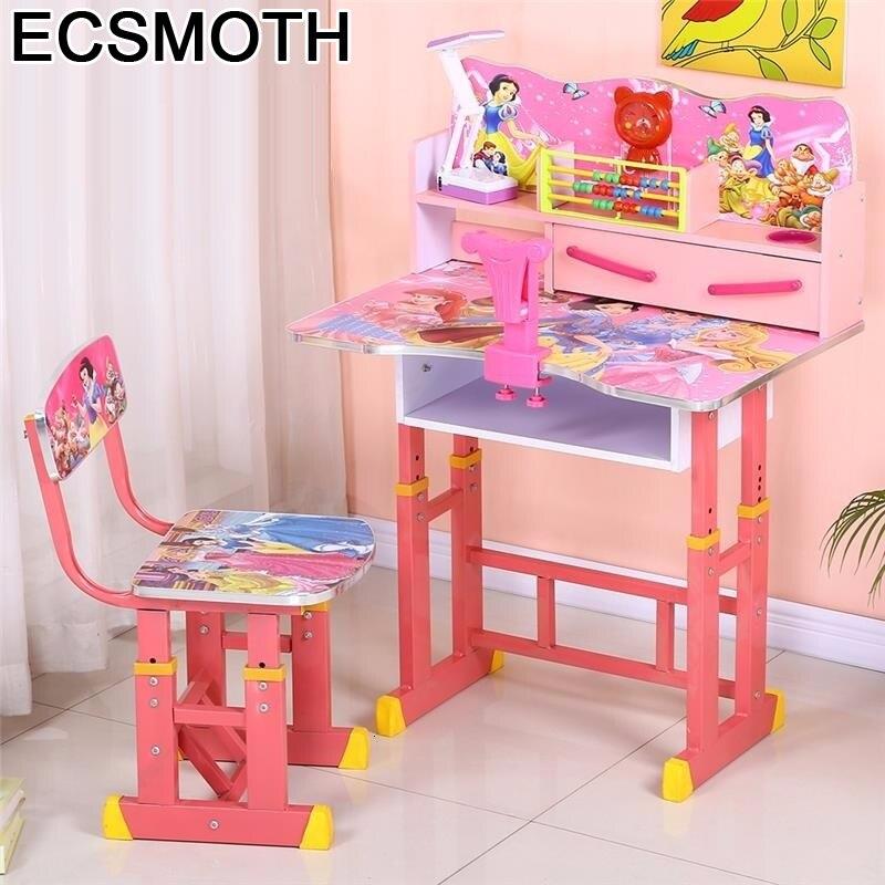 Per Bambini De Estudio Chair And Escritorio Pupitre Play Adjustable Bureau Enfant Kinder Mesa Infantil Study Table For Kids