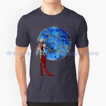 T-Shirt à l'effigie d'un Personnage, avec Fenêtre Sur Les Étoiles, Design Cool et tendance