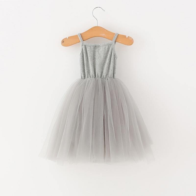 A-line Kids Dresses For Girls Clothing Solid Sling Teenager Casual Children Girl Dress Holiday Vestido Infantil 6 7 8 Years 3